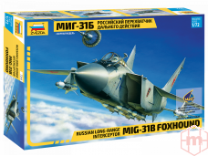 Zvezda - Russian long-range interceptor MIG-31B Foxhound, Mastelis: 1/72, 7244