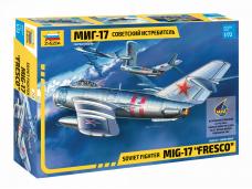 Zvezda - Soviet fighter Mig-17, 1/72, 7318