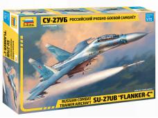Zvezda - Su-27UB Flanker-C, Scale: 1/72, 7294