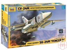 "Zvezda - Front bomber Su-24M ""Fencer D"", Scale: 1/72, 7267"