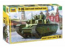 Zvezda - Soviet Heavy Tank T-35, Mastelis: 1/35, 3667