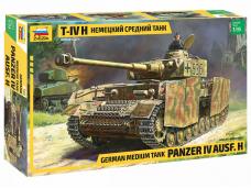 Zvezda - German Medium Tank Panzer IV - Ausf. H, 1/35, 3620