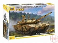 Zvezda - Russian Main Battle Tank T-90MS, 1/72, 5065