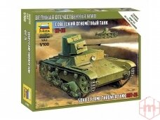 Zvezda - T-26 Flamethrower Tank, 1/100, 6165