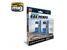 AMMO MIG - MODERN GAS PUMPS Limited Edition, Scale: 1/35, 8501