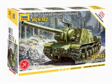 Zvezda - Soviet Tank Destroyer ISU-122, 1/72, 5054