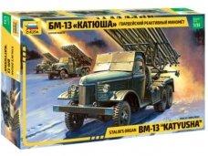 Zvezda - Soviet Rocket launcher BM-13 Katyusha, Mastelis: 1/35, 3521
