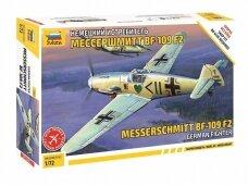 Zvezda - Messerschmitt Bf 109 F-2, Mastelis: 1/72, 7302