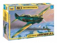 Zvezda - Soviet Fighter Lavochkin La-5, 1/48, 4803