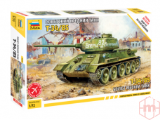 Zvezda - T-34/85, Mastelis: 1/72, 5039