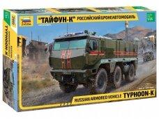 Zvezda - Russian Armored Vehicle Typhoon-K, Scale: 1/35, 3701