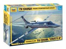 "Zvezda - Training plane TU-134UBL ""CRUSTY-B"", Mastelis: 1/144, 7036"