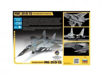 Zvezda - MiG-29C (9-13), 1/72, 7278 2