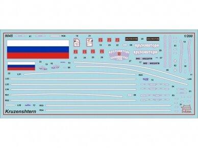 "Zvezda - ""Kruzenshtern"" - Russian Four-Masted Barque, 1/200, 9045 3"