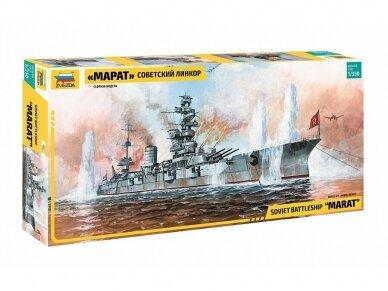 Zvezda - Soviet Battleship 'Marat', Mastelis: 1/350, 9052