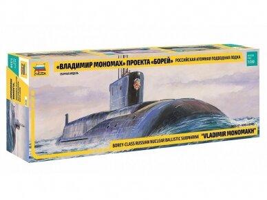 Zvezda - Russian Navy SSBN Vladimir Monomakhl, Mastelis: 1/350, 9058