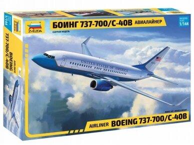 Zvezda - Boeing 737-700 / C-40B, Mastelis: 1/144, 7027