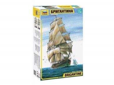 Zvezda - Brigantine, 1/100, 9011