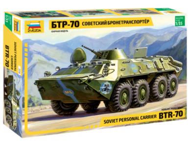 Zvezda - BTR-70 Russian Armored Personal Carrier, Mastelis: 1/35, 3556