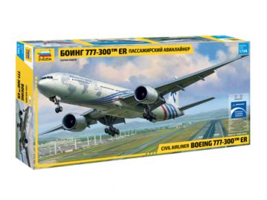 Zvezda - Civil Airliner Boeing 777-300ER, Mastelis: 1/144, 7012