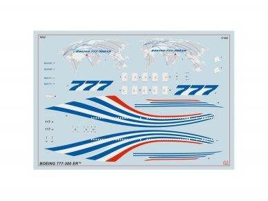 Zvezda - Civil Airliner Boeing 777-300ER, Mastelis: 1/144, 7012 3