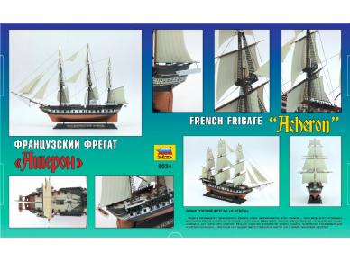 """Zvezda - French Frigate """"Acheron"""", 1/200, 9034 2"""