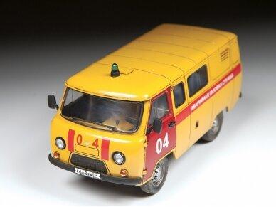 Zvezda - Emergency Gas Service UAZ 3909, Mastelis: 1/43, 43003 2