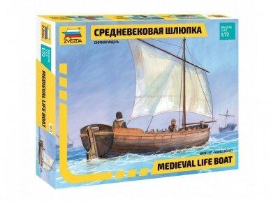 Zvezda - Medieval Life-Boat, Mastelis: 1/72, 9033