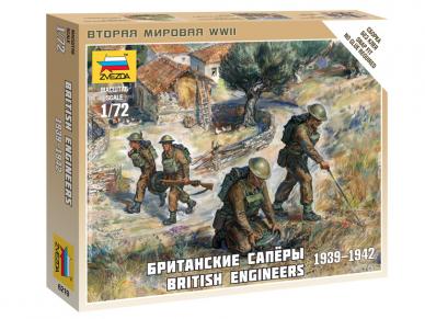 Zvezda - British Engineers 1939-1942, 1/72, 6219