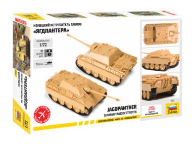 Zvezda - German Tank Destroyer Jagdpanther, Mastelis: 1/72, 5042 2