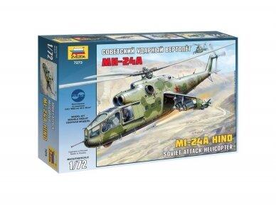 Zvezda - Mi-24A Hind, Mastelis: 1/72, 7273