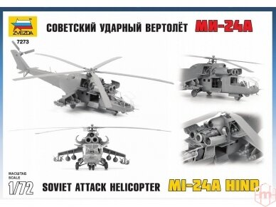 Zvezda - Mi-24A Hind, 1/72, 7273 2