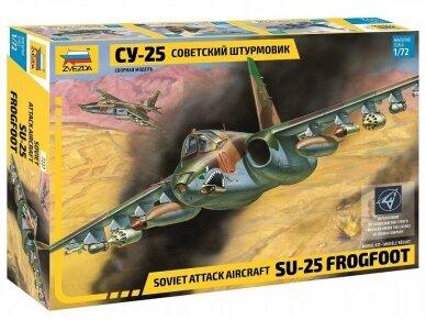 Zvezda - Soviet Attack aircraft Su-25 Frogfoot, 1/72, 7227