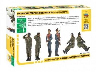 Zvezda - Modern Russian Tank Crew, Mastelis: 1/35, 3685 2