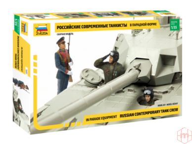 Zvezda - Modern Russian Tank Crew, Scale: 1/35, 3685