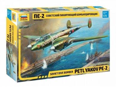 Zvezda - Petlyakov Pe-2, Mastelis: 1/72, 7283