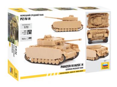 Zvezda - Pz.Kpfw.IV Ausf.H, Mastelis: 1/72, 5017 2