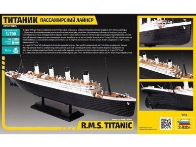 Zvezda - R.M.S. Titanic, 1/700, 9059 2