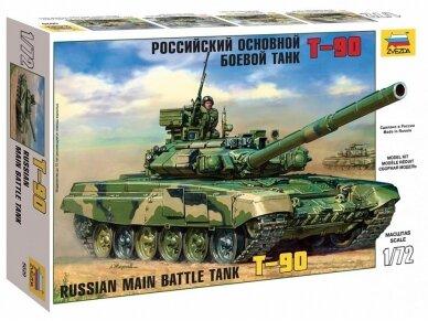 Zvezda - Russian Main Battle Tank T-90, Mastelis: 1/72, 5020