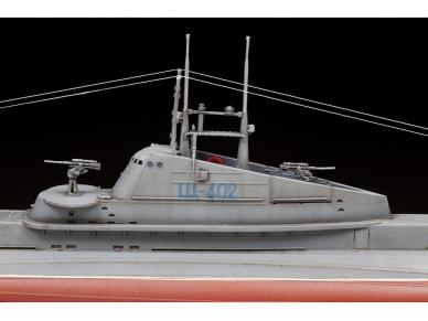"""Zvezda - Soviet WWII Submarine - """"Shchuka"""" (SHCH) class, 1/144, 9041 8"""