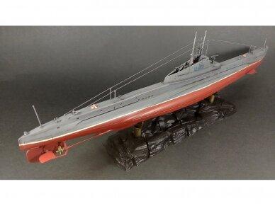 """Zvezda - Soviet WWII Submarine - """"Shchuka"""" (SHCH) class, 1/144, 9041 6"""