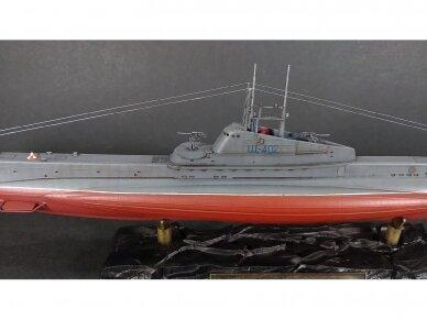 """Zvezda - Soviet WWII Submarine - """"Shchuka"""" (SHCH) class, 1/144, 9041 7"""