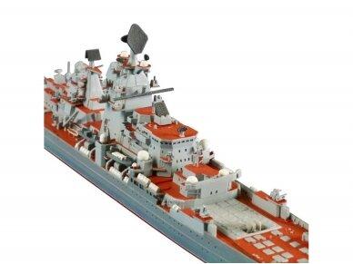 Zvezda - Russian Nuclear-powered missile cruiser Petr Velikiy, Mastelis: 1/700, 9017 4