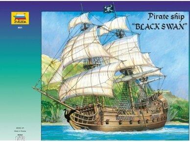 Zvezda - Pirate ship Black Swan, Mastelis: 1/72, 9031