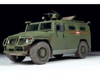 "Zvezda - Russian Armored Vehicle GAZ-233014 ""Tiger"", 1/35, 3668 3"