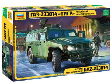 "Zvezda - Russian Armored Vehicle GAZ-233014 ""Tiger"", 1/35, 3668"
