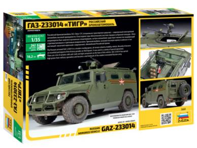 "Zvezda - Russian Armored Vehicle GAZ-233014 ""Tiger"", 1/35, 3668 2"