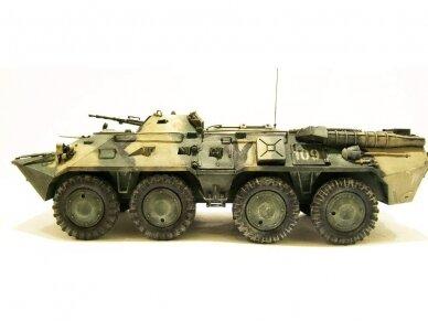 Zvezda - Russian Personnel Carrier BTR-80, 1/35, 3558 2