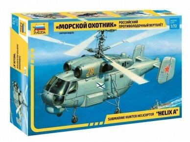 "Zvezda - Submarine hunter helicopter ""Helix A"", 1/72, 7214"