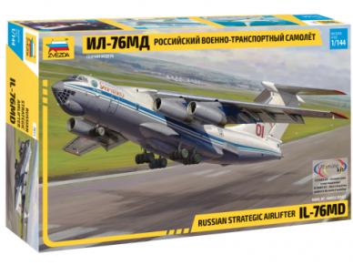 Zvezda - Russian Strategic Airlifter IL-76MD, 1/144, 7011